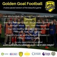 Golden Goal Football poster 3rd Jan 18